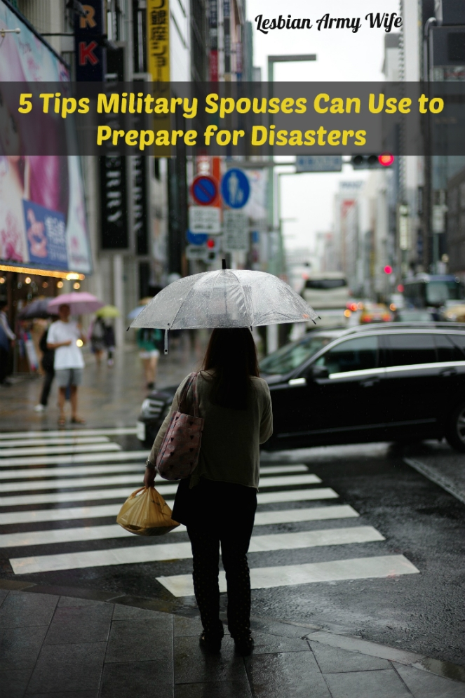 5 Tips Military Spouses Can Use to Prepare for Disasters1