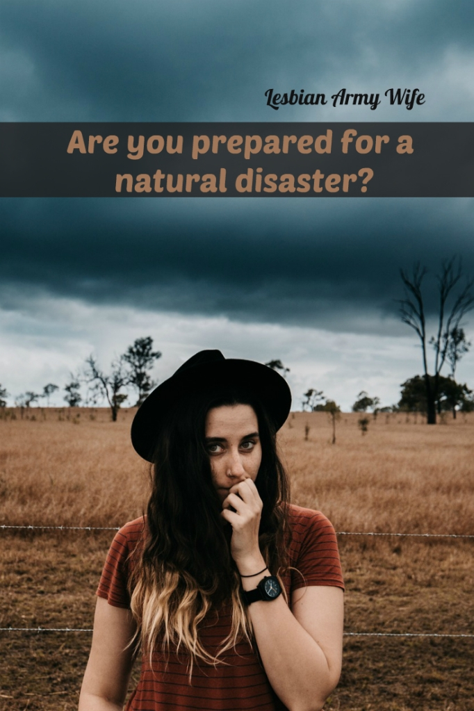 Are you prepared for a natural disaster