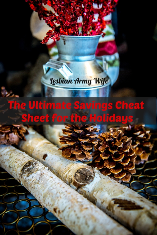 The Ultimate Savings Cheat Sheet for the Holidays