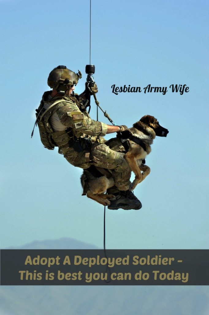 Adopt A Deployed Soldier - This is best you can do today