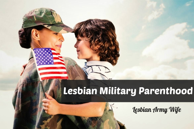 flag mom son military lesbian army