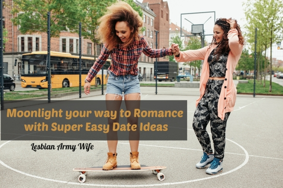 African young woman standing on a longboard with support from her friend. Woman learning to ride skateboard in a basketball court.
