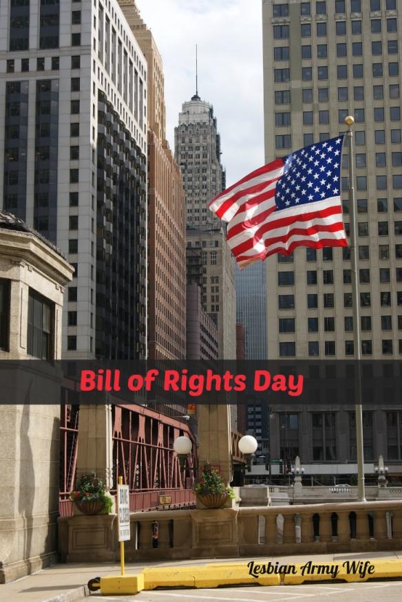 Bill of Rights Day - December 15, 2015