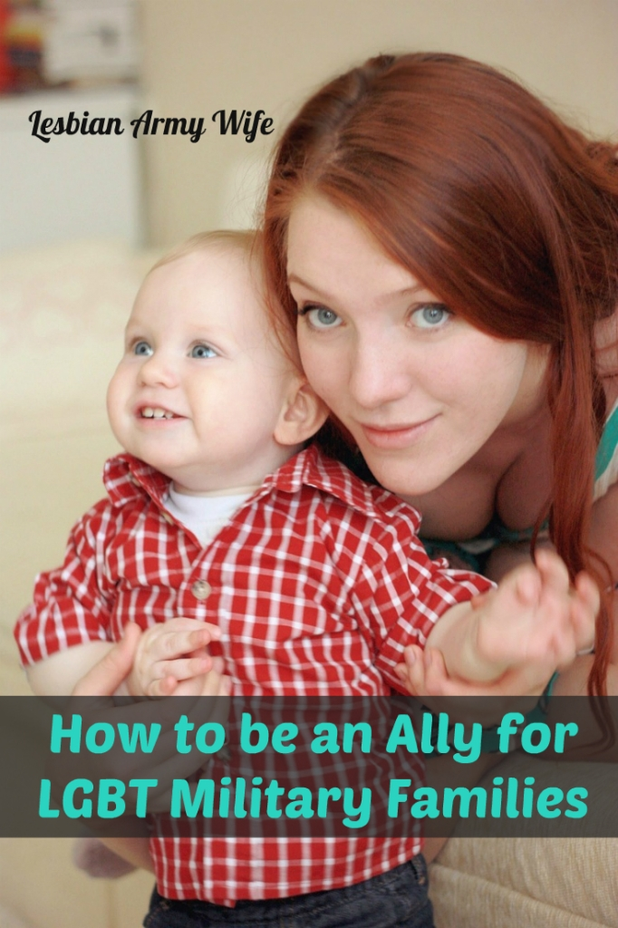 How to be an Ally for LGBT Military Families 1