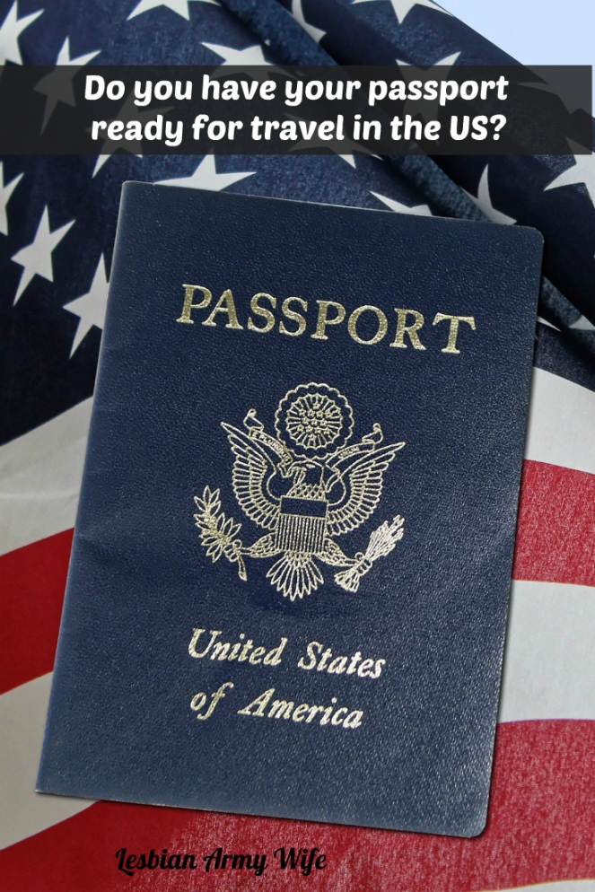 Do you have your passport ready for travel in the US2