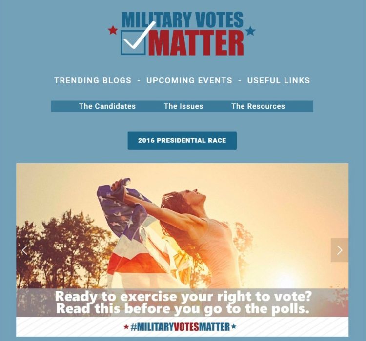 Military votes matter
