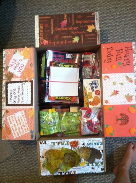 Happy fall care package