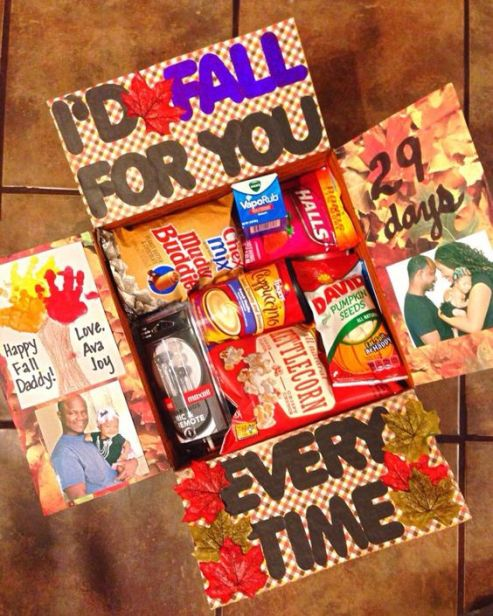 I'd fall for you every time care package