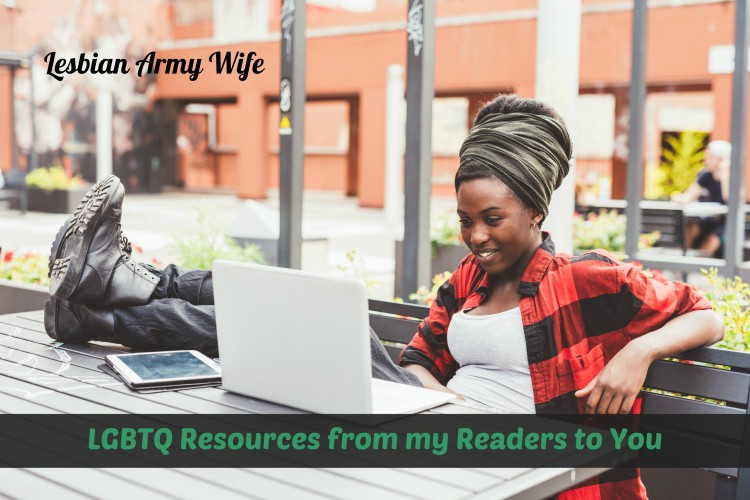 -LGBTQ Resources from my Readers to You